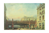 Holborn Viaduct, City of London Giclee Print by Ernest Crofts