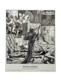 Death as Assassin, 1851 Giclee Print by Alfred Rethel