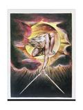 The Ancient of Days, Frontispiece of 'Europe, a Prophecy', C.1821 Lámina giclée por William Blake
