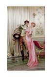 The Embrace Giclee Print by Joseph Frederic Soulacroix