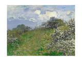 Spring, 1875 Giclée-Druck von Claude Monet