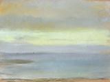 Marine Sunset, C.1869 Giclee-trykk av Edgar Degas