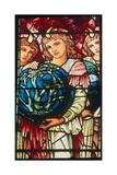 Angels of Creation: the Third Day, C.1890 Giclee Print by Edward Burne-Jones