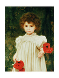 Edith Francis Moir (Connie), 1898 Giclee Print by William Clarke Wontner