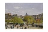 Quai Du Louvre, Paris, 1866-67 Giclée-Druck von Claude Monet