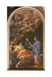 The Death of St. Joseph, 1676 Giclée-tryk af Carlo Maratta or Maratti