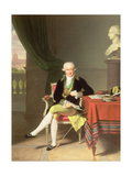 A Portrait of Johan Claes Lagersvard (1756-1863), 1799 Giclée-tryk af Louis Gauffier