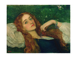 In the Grass Giclee Print by Arthur Hughes