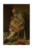 The Hurdy Gurdy Player, 1620s Giclee Print by Georges de La Tour