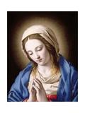 The Madonna Praying Giclee Print by  Giovanni Battista Salvi da Sassoferrato