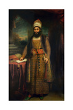 Portrait of Mirza Abul Hassan Giclee Print by Sir William Beechey