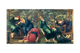 The Garden Court, from the Briar Rose Series, C.1894 Giclée-Druck von Edward Burne-Jones