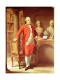 Portrait of Sir Thomas Gascoigne, 8th Baronet, 1779 Giclée-tryk af Pompeo Girolamo Batoni