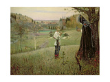 The Vision of the Young Bartholomew, 1889-90 Giclee Print by Mikhail Vasilievich Nesterov