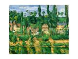 The Chateau De Medan, C.1880 Lámina giclée por Paul Cézanne