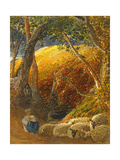 The Magic Apple Tree Giclée-tryk af Samuel Palmer