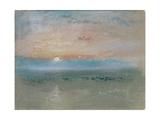 Sunset, C.1830 Giclée-tryk af J. M. W. Turner