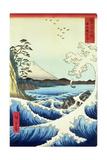 View from Satta Suruga Province Reproduction procédé giclée par Ando Hiroshige