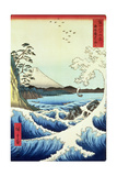 View from Satta Suruga Province Giclée-Druck von Ando Hiroshige