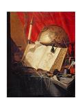 A Vanitas Still Life Giclee Print by Pieter De Ring