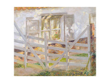 The Gate Giclee Print by Emile Claus