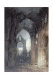 Tintern Abbey by Moonlight Giclee Print by John Sell Cotman
