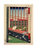 Asakusa Rice Fields During the Festival of the Cock, C.1857 Giclee Print by Ando Hiroshige