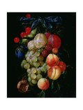 A Garland of Fruit Giclee Print by Cornelis de Heem