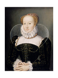 Portrait of a Lady Giclee Print by Francois Clouet
