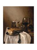 Still Life with a Roemer, 1644 Reproduction procédé giclée par Pieter Claesz