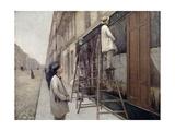 The Painters, 1877 Giclée-vedos tekijänä Gustave Caillebotte