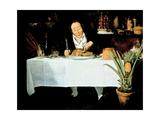 The Gourmand Giclée-Druck von Louis Leopold Boilly