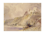 Rheinfels and St. Goar Giclee Print by William Callow