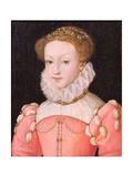 Mary Stuart (1542-87) Giclee Print by Francois Clouet