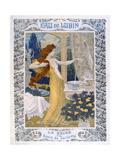 Poster Advertising 'Eau De Lubin', C.1900 Giclee Print by Eugene Grasset