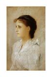 Emilie Floge, 1891 Giclée-Druck von Gustav Klimt