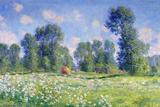 Effect of Spring, Giverny, 1890 Giclee-trykk av Claude Monet