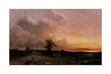 Sunset Giclee Print by Theodore Rousseau