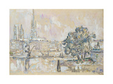 Rouen Cathedral Giclee Print by Paul Signac