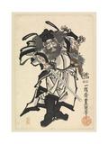 Shoki the Demon Queller, C.1849-53 Giclee Print by Utagawa Kunisada