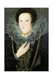 Dorothy Huddelston (Nee Dormer), 1594 Giclée-tryk af Nicholas Hilliard