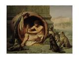Diogenes, 1860 Giclée-tryk af Jean Leon Gerome