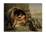 Diogenes, 1860 Giclee Print by Jean Leon Gerome