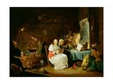 Witches Preparing for the Sabbat Giclée-Druck von David Teniers the Younger