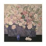 Pinks Giclée-tryk af Charles Rennie Mackintosh