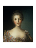 Portrait of Madame Dupin (1706-95) Giclee Print by Jean-Marc Nattier