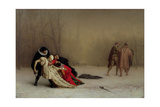 The Duel after the Masquerade, 1857-59 Giclée-tryk af Jean Leon Gerome