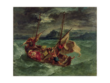 Christ on the Sea of Galilee, 1854 Giclée-Druck von Eugene Delacroix