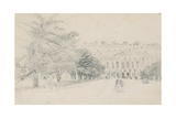 Hampton Court Palace, East Front Giclee Print by David Cox