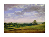 View from Highgate Hill Reproduction procédé giclée par John Constable